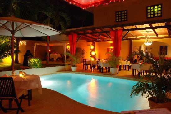 Bliss Restaurant Lounge Bar Pool : From the bar