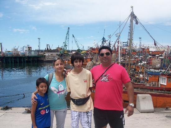 Hotel Sennac: Mardel familia Luna 2012