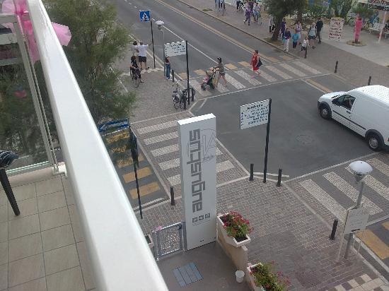 Hotel Augustus : Vista dalla camera