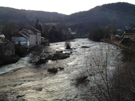 Лланголлен, UK: View from Llangollen Bridge