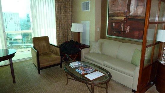 Signature at MGM Grand: Lounge Area