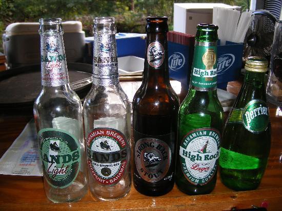 Grand Lucayan, Bahamas : local bahamian beers