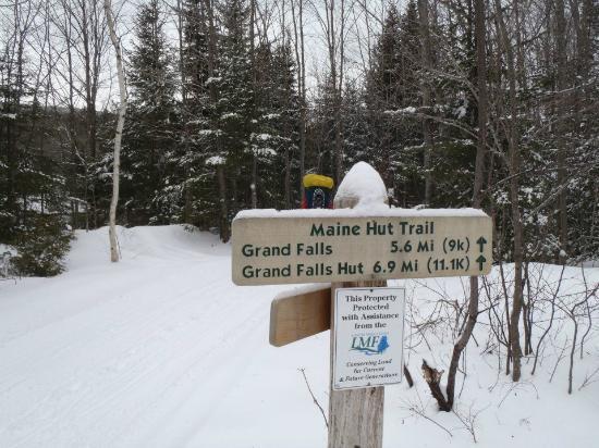 Maine Huts & Trails: Jan 28 Hike