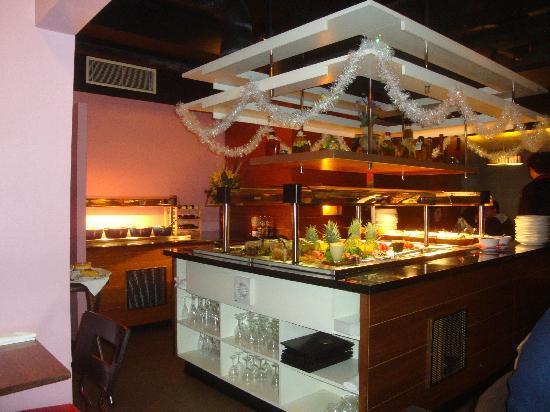 Preto Victoria: il buffet