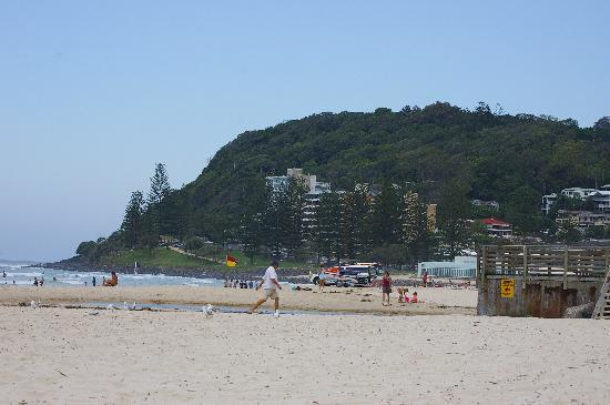 View towards Burleigh Heads National Park