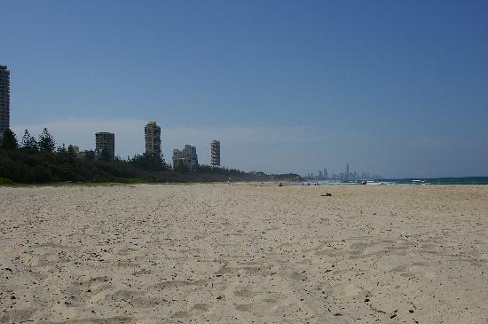 Burleigh Heads, Australia: View towards Miami and Surfer's Paradise