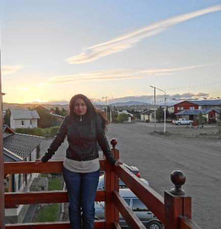 Hosteria Puerto San Julian: Vista desde el balcon..