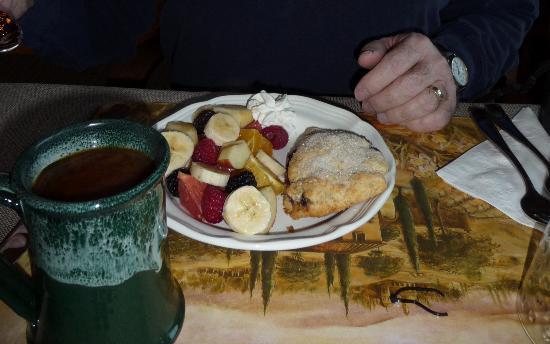 Cabin Creek Landing Bed & Breakfast: For starters