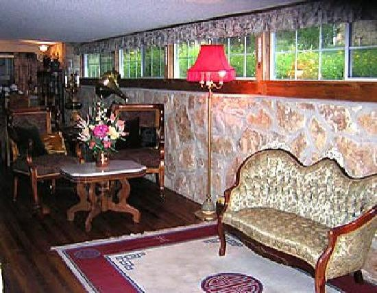 Grey Stone Manor B&B: Sitting Area
