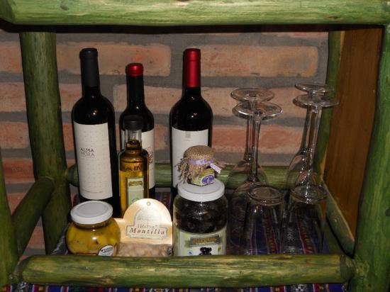 Cerro Del Valle Hotel Rustico: el bar en la habitación