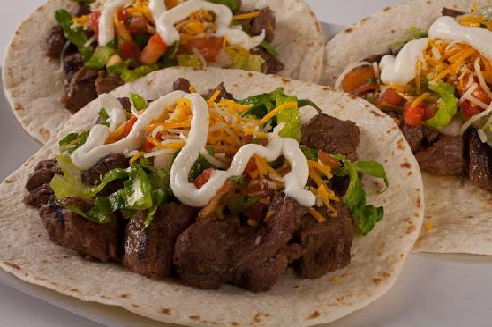 Chameleon Mexican Grill: Steak & Carnitas are 100% freshly cooked and natural