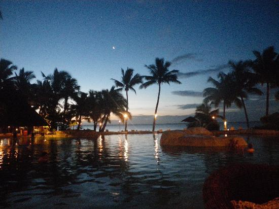 Sonaisali Island Resort Fiji: sunset