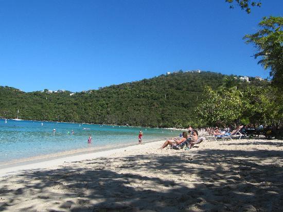 Little Magens Bay Beach