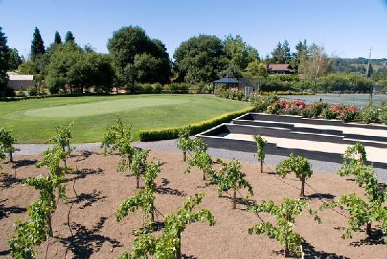 Honor Mansion, A Wine Country Resort: Grounds include bocce, tennis, putting & more!