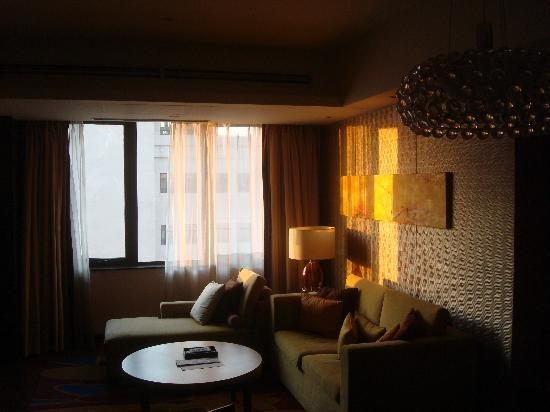 The Sandalwood Beijing Marriott Executive Apartments: Living room