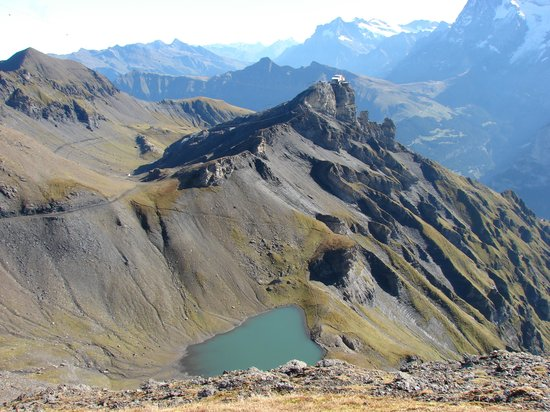 Schilthorn: Hiking from Shilthorn to Birg