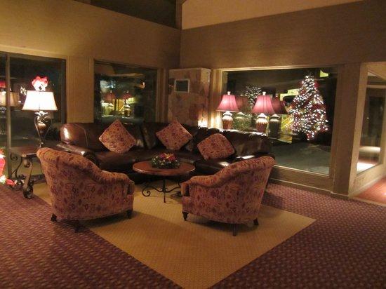 Lake Lawn Resort: Cozy common areas
