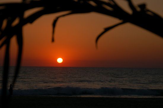 Sunset Agonda Beach
