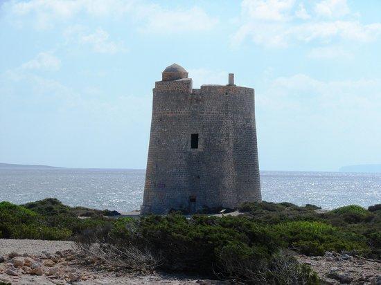 Best beach by far - Torre de ses Portes, Ibiza Town Traveller