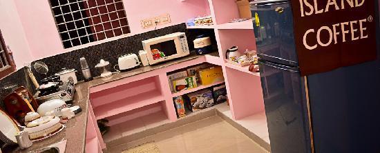 Asokantham Luxury Serviced Apartments: Kitchen