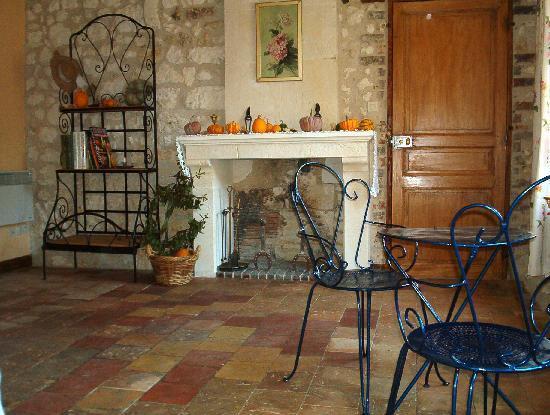 """Villiers-sur-Loir, Γαλλία: La chambre """"Le jardin"""""""