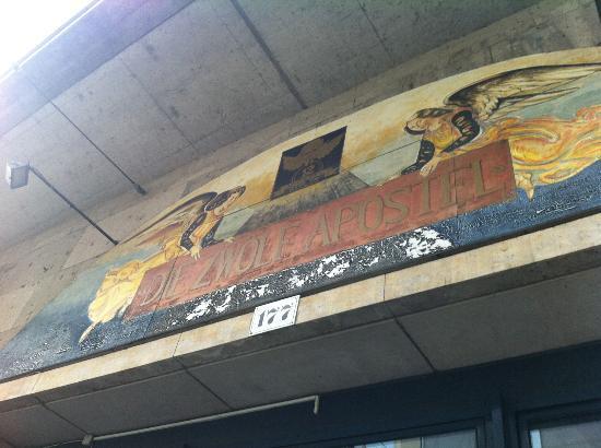 Wandmalerei bild von 12 apostel berlin tripadvisor - Wandmalerei berlin ...