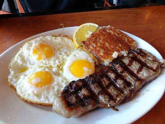 Image result for steak and eggs