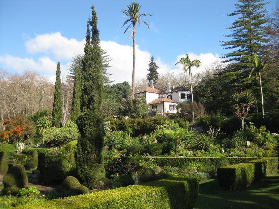 Palheiro Gardens : Blandy's house and garden