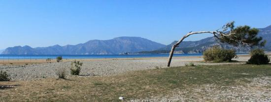 Iztuzu Beach: The beach