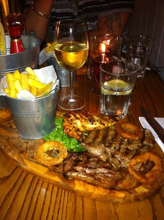 Middleton's Steakhouse & Grill Kings Lynn: Delicious mmmm.......