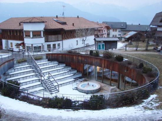 Pineta Naturamente Hotels: idromassagio con neve