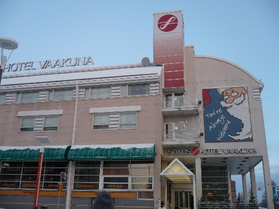 Original Sokos Hotel Vaakuna,Rovaniemi: ingresso hotel