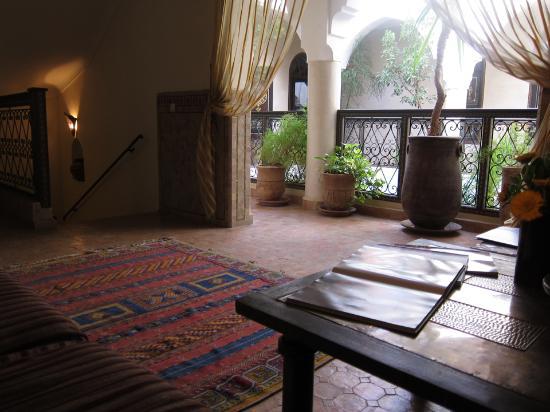 Riad Bamaga Hotel: Salon