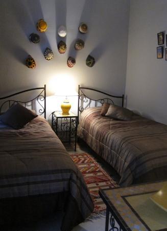 Riad Bamaga Hotel: Twinroom