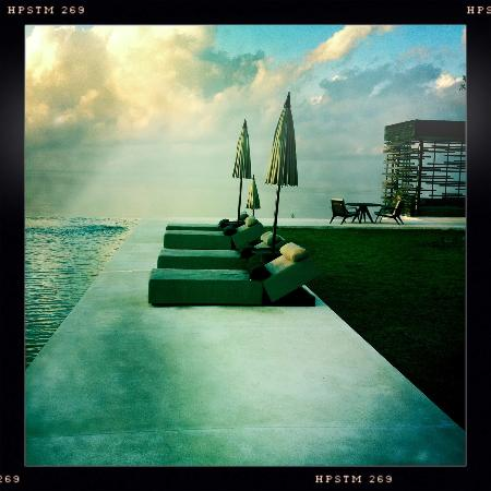 Alila Villas Uluwatu: I took this with my iPhone -- the view that we had every  morning.