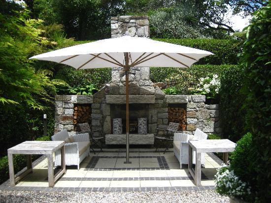 Huka Lodge: Verandah