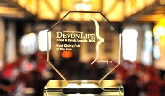 California Country Inn: Devon Dining Pub of the Year 2011