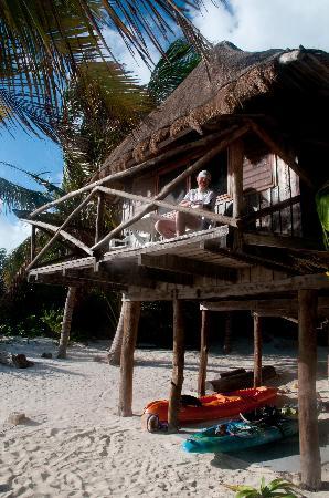 Xamach Dos: Treetop terrace