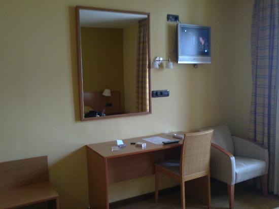 Hotel Leyton: habitación