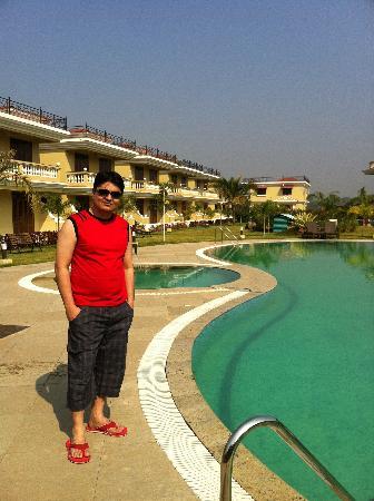 โจคอน บีช รีสอร์ท: Swimming pool area
