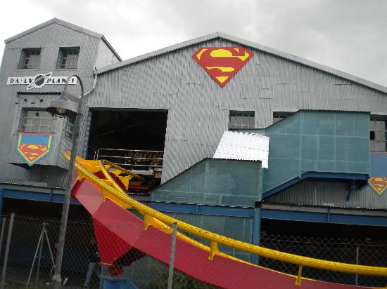 San Martín de la Vega, España: superman