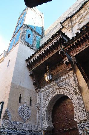 Médina de Fès : Mezquita Sidi Ahmed Tijani
