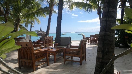 Paradis Beachcomber Golf Resort & Spa: Relax al bar del Paradis