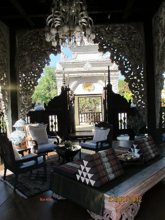 The Dhara Dhevi Chiang Mai: Spa waiting area