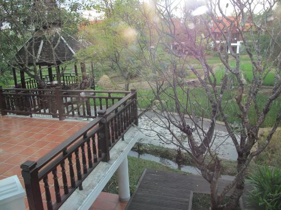 The Dhara Dhevi Chiang Mai: Villa patio