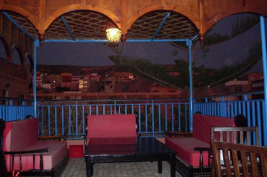 Riad Imourane : une des terrasses