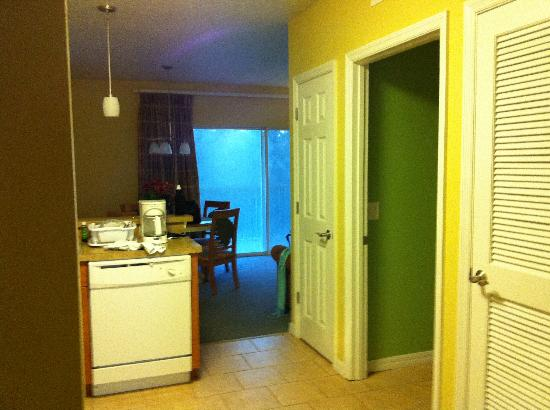 The Barefoot Suites: entrance from the hallway