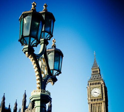 Londen, UK: Big Ben