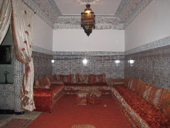 Riad Mahjouba : Se relaxer au salon