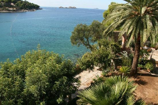 Boutique & Beach Hotel Villa Wolff : View from the suite